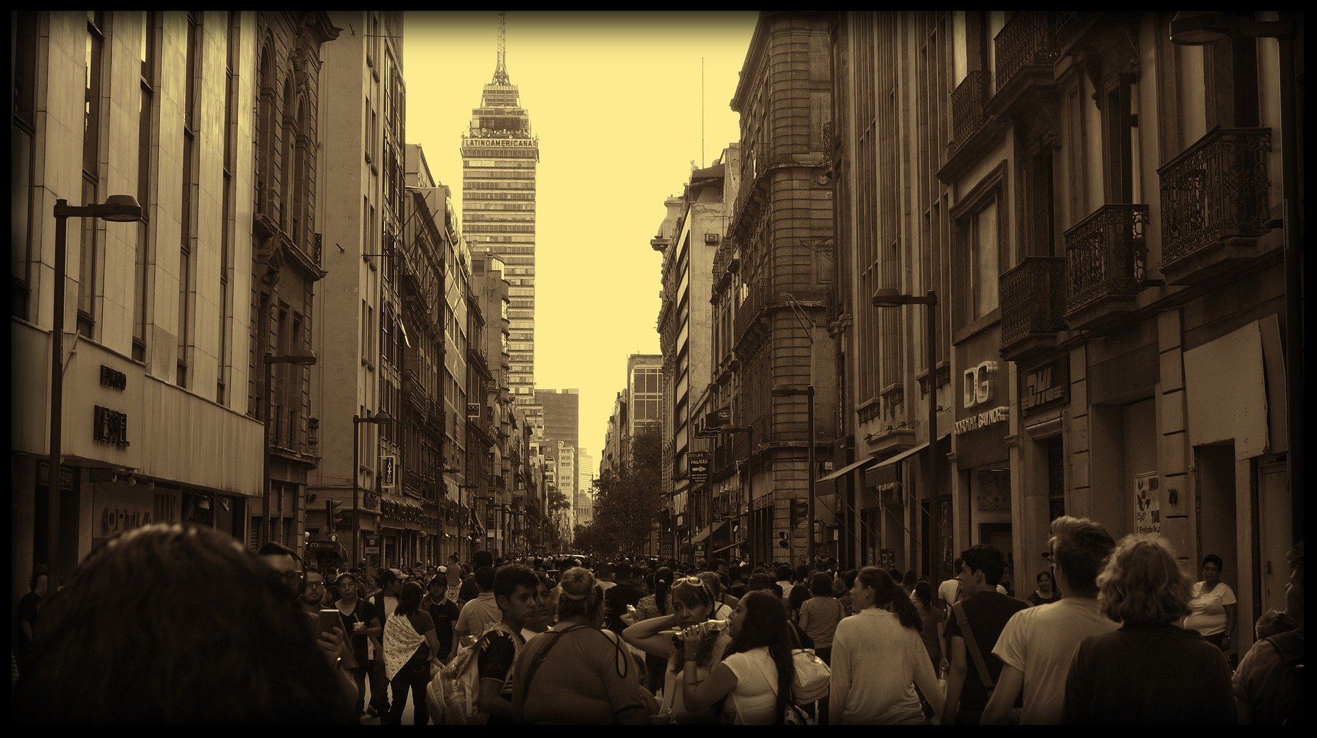 Mexico City. Chaotic, Beautiful, in its own way. Attracts all types. Some love it, others hate it. No one understands it.