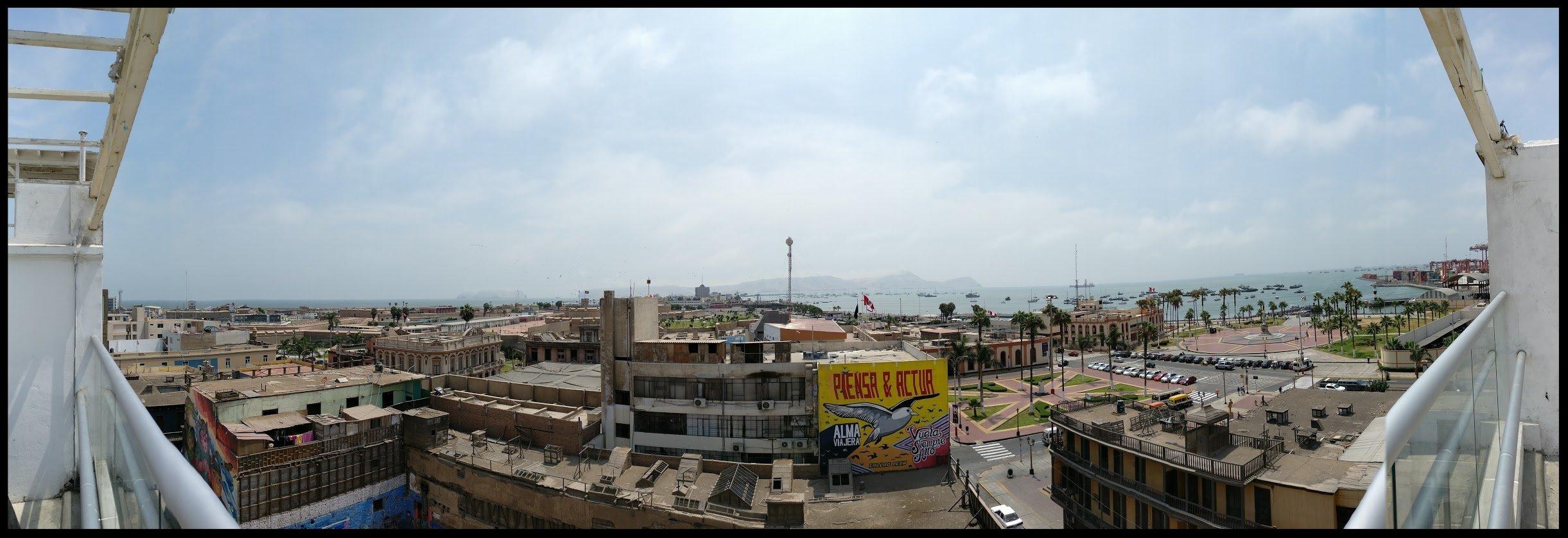 Chim Pum, Callao! Photo taken from a rooftop near La Punta, Callao