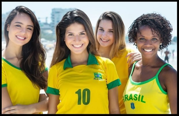 Women pictures of brazilian 20 Hottest