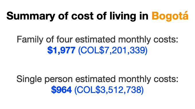 cost-of-living-bogota