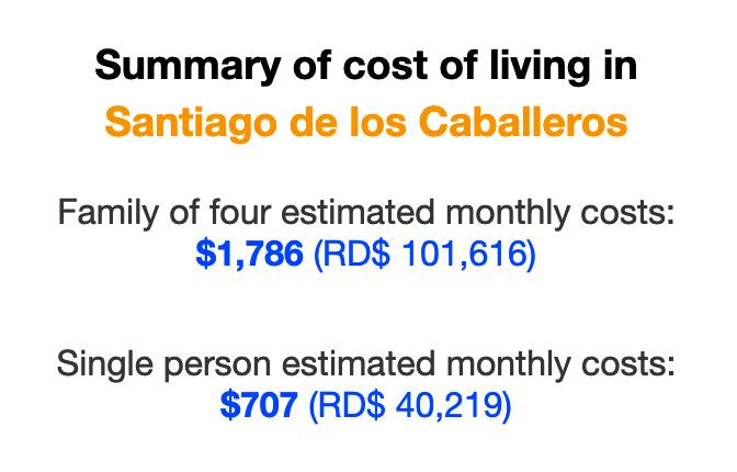 santiago-dominican-republic-cost-of-living