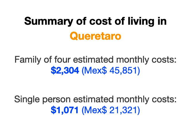 queretaro-cost-of-living