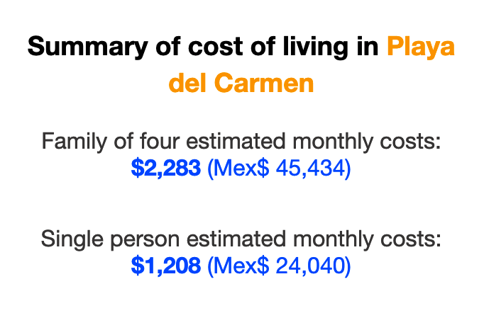 cost-of-living-playa-del-carmen