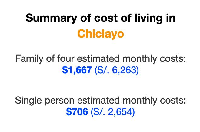 cost-of-living-chiclayo-peru