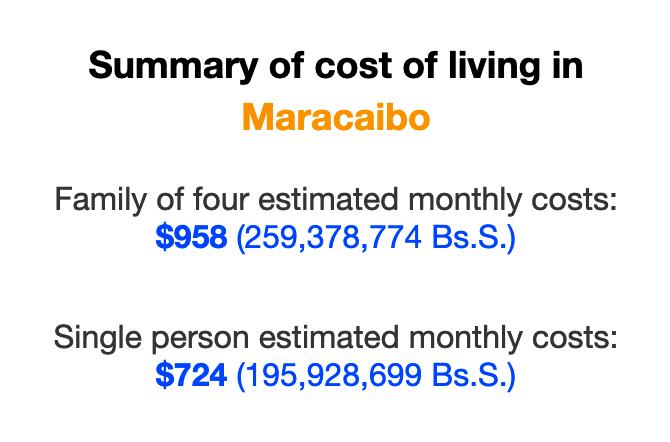 cost-of-living-maracaibo-venezuela