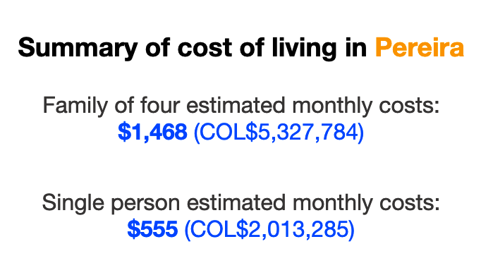 cost-of-living-pereira-colombia