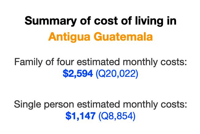 cost-of-living-antigua-guatemala