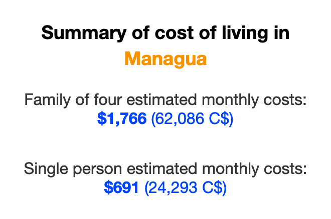 cost-of-living-managua-nicaragua