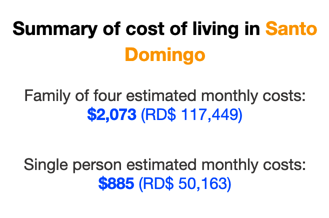cost-of-living-santo-domingo