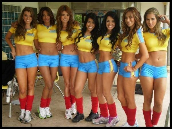 colombian chicks